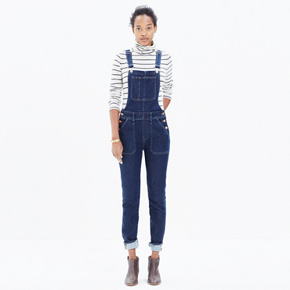 Skinny Overalls in Judd Wash