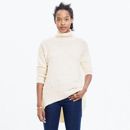Snowglobe Bobble Turtleneck Sweater