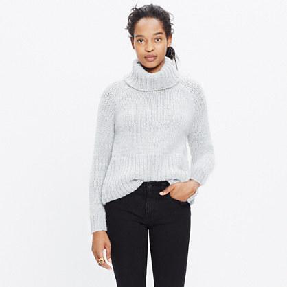 Handknit Cozy Turtleneck Sweater
