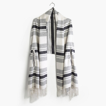 Cape Scarf in Stripe