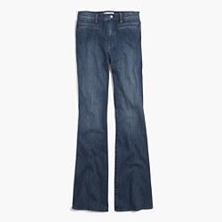 Flea Market Flare Jeans in Kara Wash