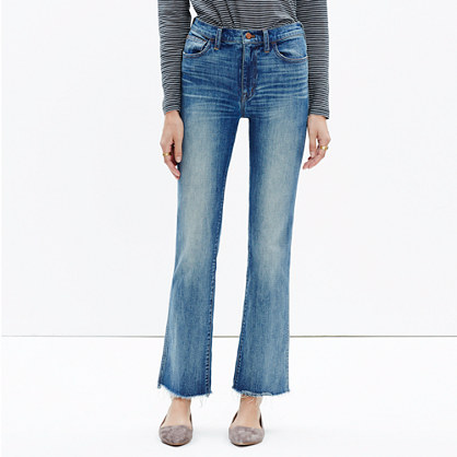 Cali Cropped High-rise Bootcut Jeans - Blue Madewell pXexlB