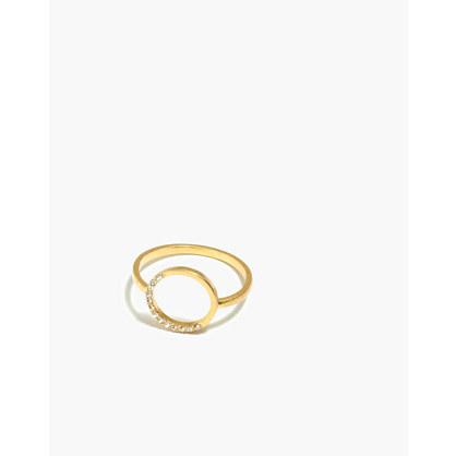 Luster Circle Ring