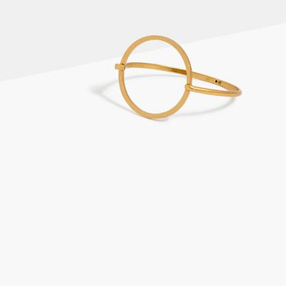 Luster Circle Cuff Bracelet