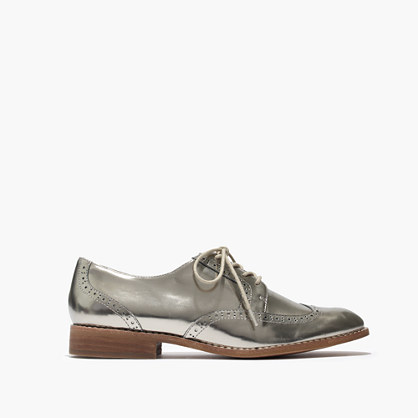 The Declan Oxford in Metallic