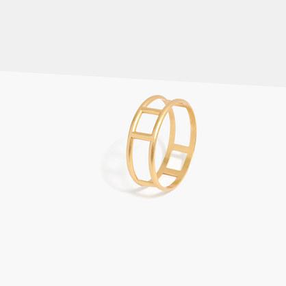 Cage Bangle Bracelet