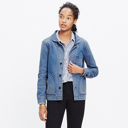 Joshua Tree Jean Jacket in Rossie Wash