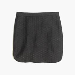 Shirttail Skirt in Nightfall Jacquard