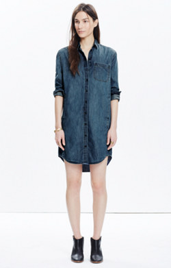 Denim Sunday Shirtdress