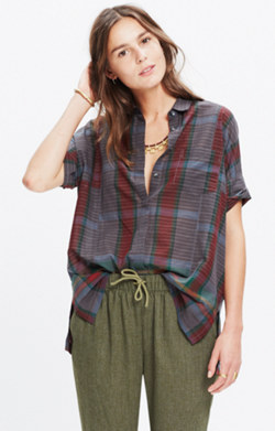 Academie Shirt in Cadiz Plaid