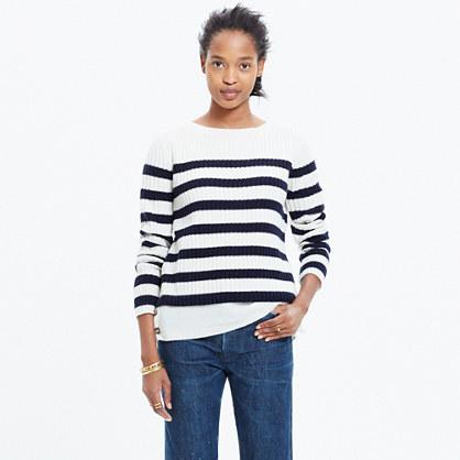 Striped Anchorlight Sweater