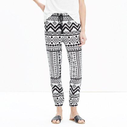 Shorewalk Cover-Up Pants in Diamond Coast