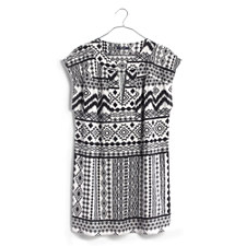 Belize Cover-Up Tunic Dress in Diamond Coast - BRIGHT IVORY