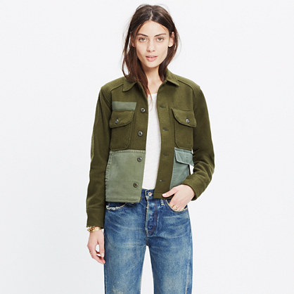 Madewell & M-82 by George McCracken™ Patched Jacket