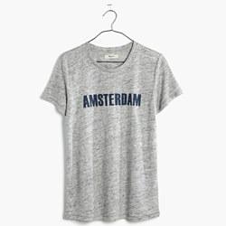 Modern Linen Amsterdam Tee