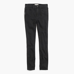 "10"" High-Rise Skinny Jeans in Captain Wash"