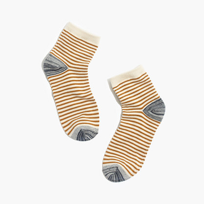 Mini-Stripe Ankle Socks