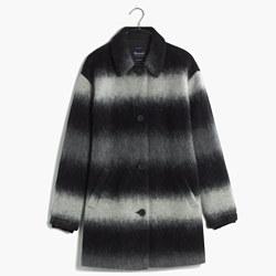 Textured Cocoon Coat