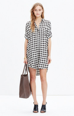 Courier Shirtdress in Buffalo Check