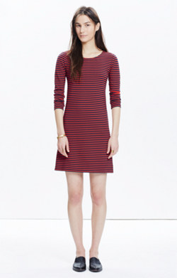 Sorbonne Dress in Sailor Stripe