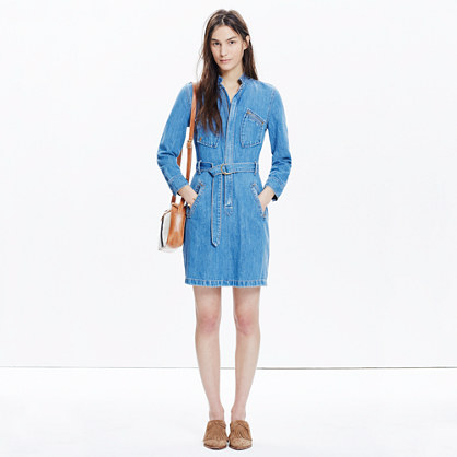 Madewell x Daryl K® Cecilia Denim Shirtdress