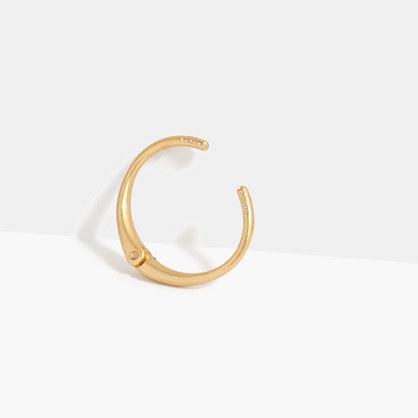 Heliocurve Hinge Bracelet