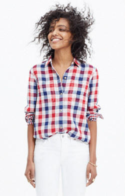 Ex-Boyfriend Shirt in Emmett Plaid