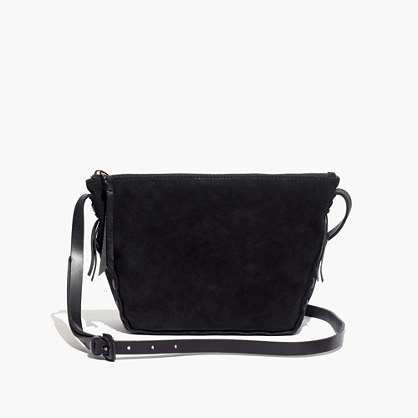The Marin Crossbody Bag in Suede