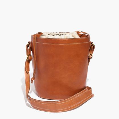 Rivet & Thread Drawstring Bucket Bag