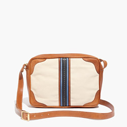 Madewell x Daryl K® Striped Canvas Crossbody Bag