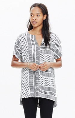 Tunic Tee in Wavedot