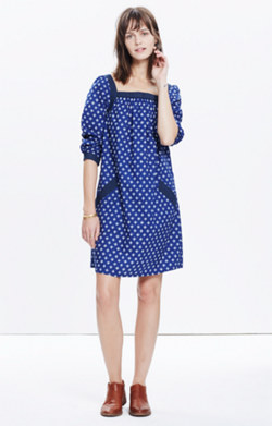 Madewell x Daryl K® Bonnie Print-Mix Dress