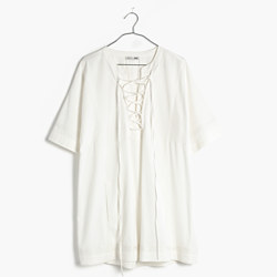 Madewell x Daryl K® Beverly Lace-Up Dress