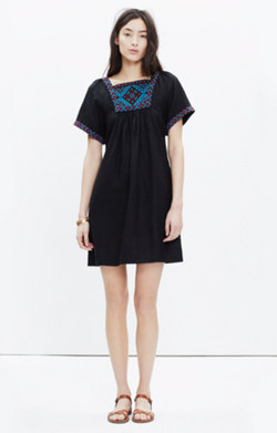 Embroidered Wander Dress