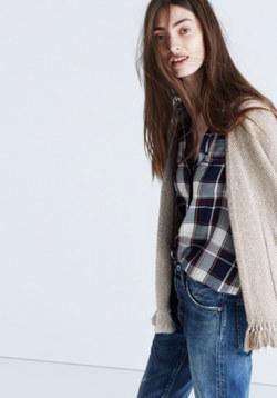 Memento Fringe Cardigan Sweater