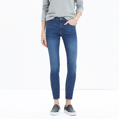 "9"" High-Rise Skinny Crop Jeans in Bayview : high-rise skinny jeans ..."