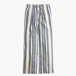 Striped Lawndale Wide-Leg Pants