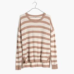 Warmlight Pullover Sweater in Stripe