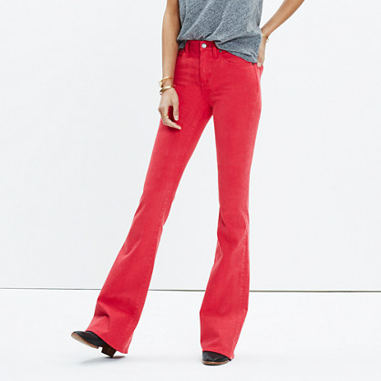 Flea Market Flare Jeans: Garment-Dyed Edition : demi-boots & wide ...