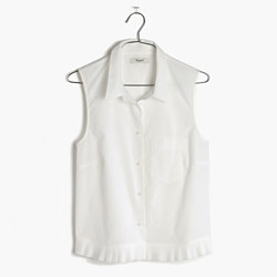 Pagoda Crop Shirt