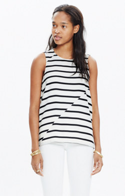 Area Tank Top in Breakstripe