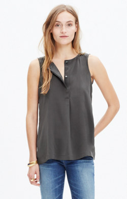 Silk Composition Tank Top