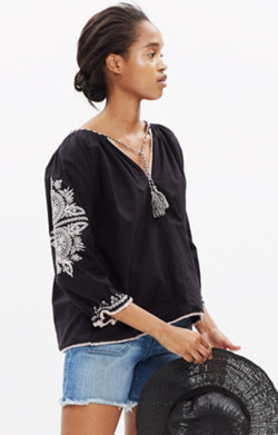 Ulla Johnson™ Embroidered Ada Top