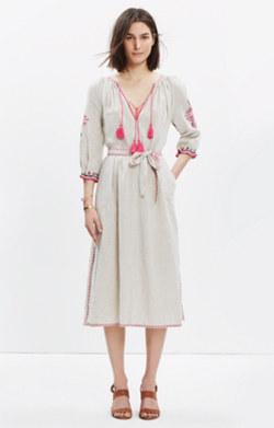 Ulla Johnson™ Embroidered Midi Dress