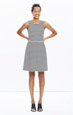 Afternoon Dress in Stripe