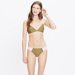 Giejo™ Colorblock Swimlette Bikini Top