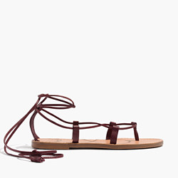 The Boardwalk Lace-Up Sandal