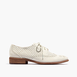 The Belinda Perforated Oxford