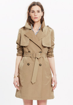 Parcel Trench Coat