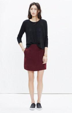 Silk Distance Skirt